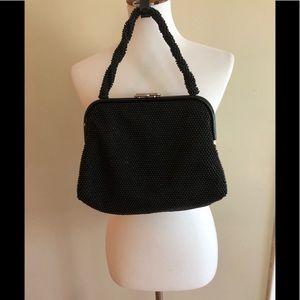 Vintage beaded reversible handbag